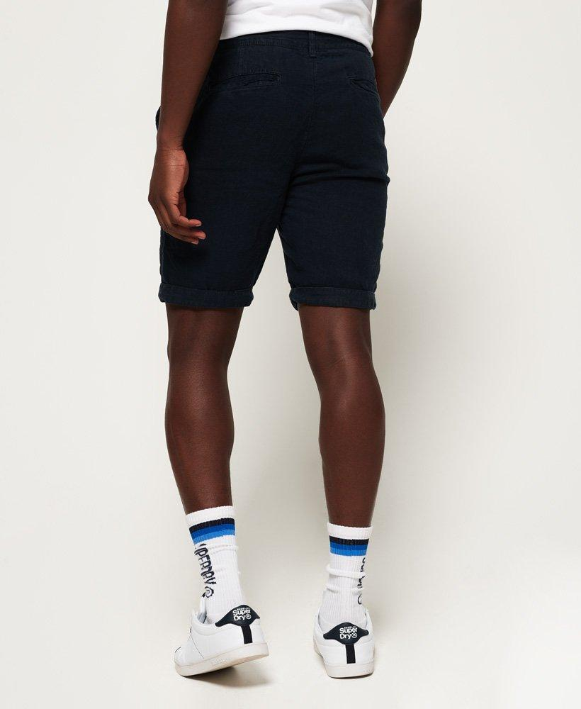 Superdry Mens International Linen Chino Shorts