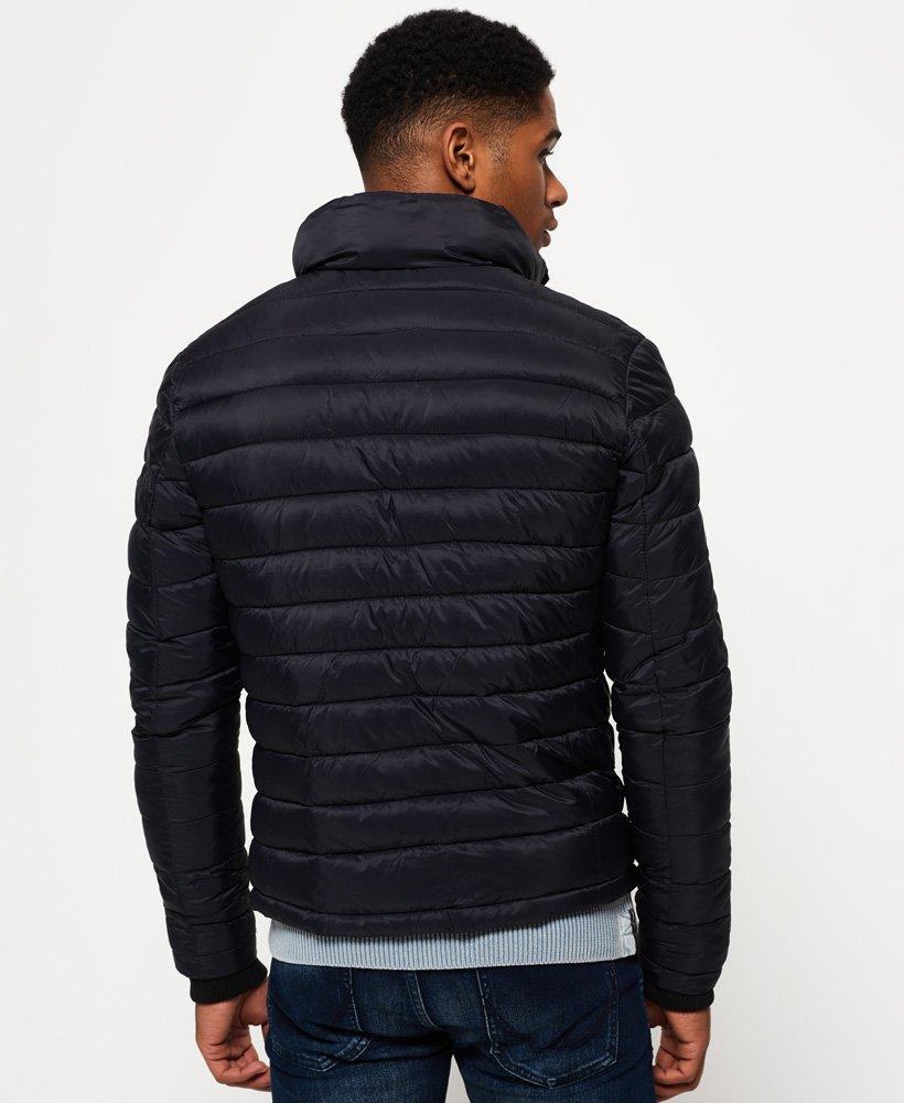 Superdry Synthetic Sd-x Fuji Triple Zip Through Jacket in Black for Men