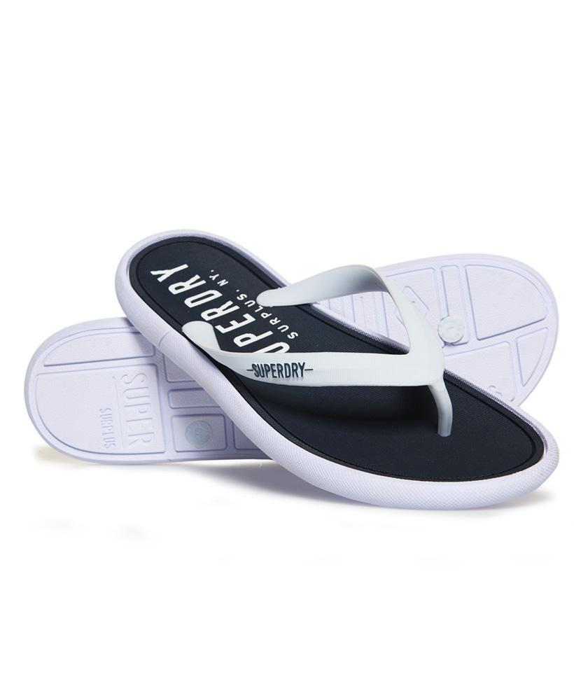 9ad9ed41dd371 Superdry Surplus Goods Flip Flops in White for Men - Lyst