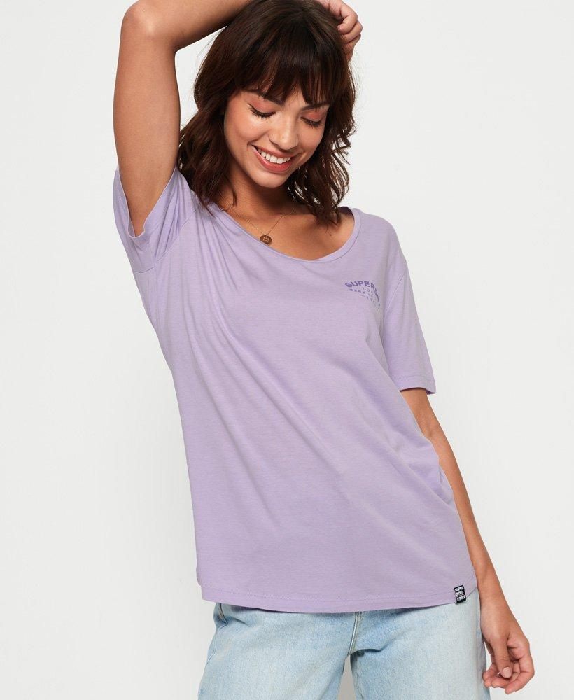 LUX Large Pink Mauve T-Shirt New Nature Graphic Urban Outfitters Short Sleeve