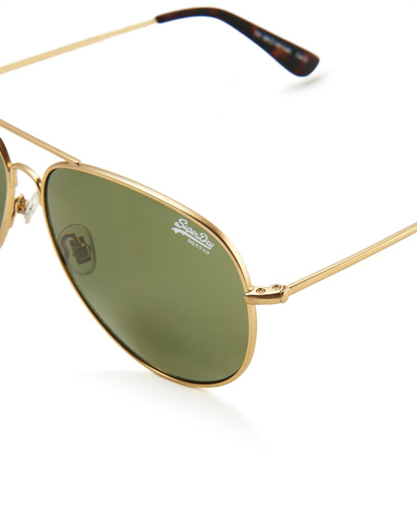 Superdry Huntsman Sunglasses in Gold (Metallic)