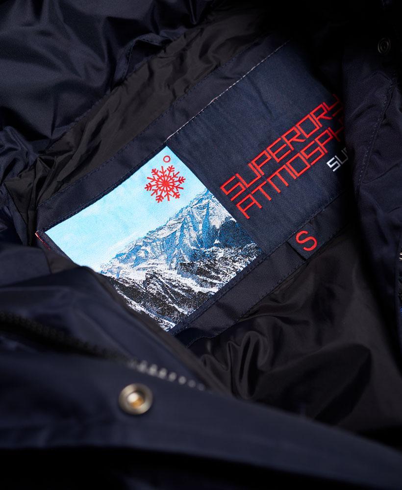 Lyst Superdry Canadian Ski Parka Jacket In Blue