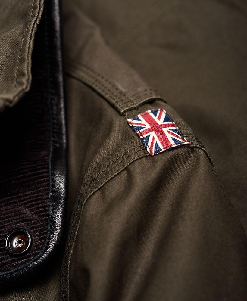 Superdry Cotton Leading Motorcycle Jacket for Men