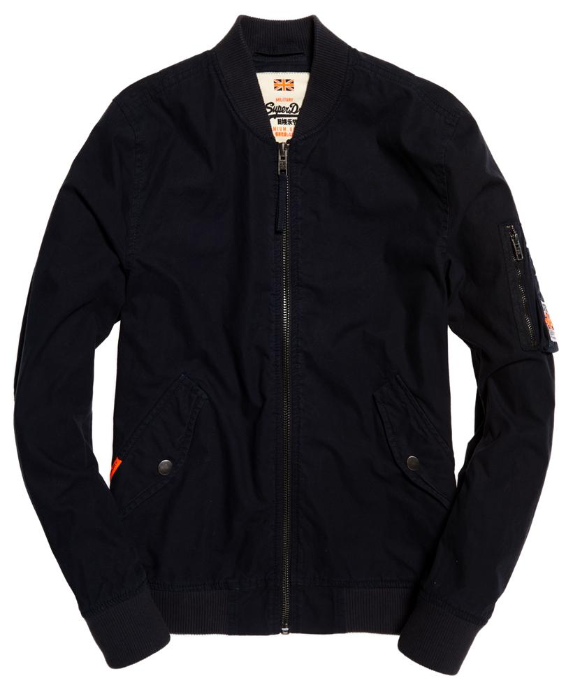 Superdry Rookie Drone Bomber Jacket in Midnight (Blue) for Men