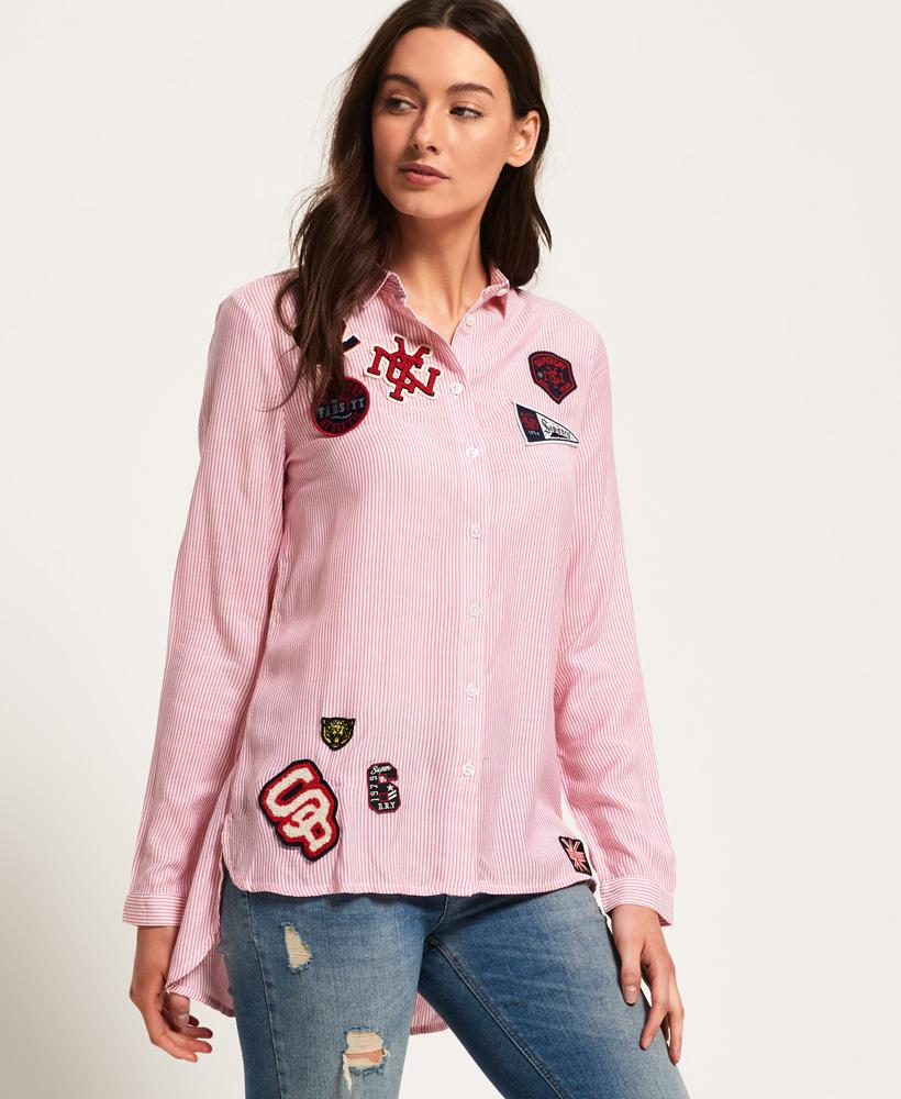 Superdry Frankie Shirt in Pink - Lyst 66b66d631d