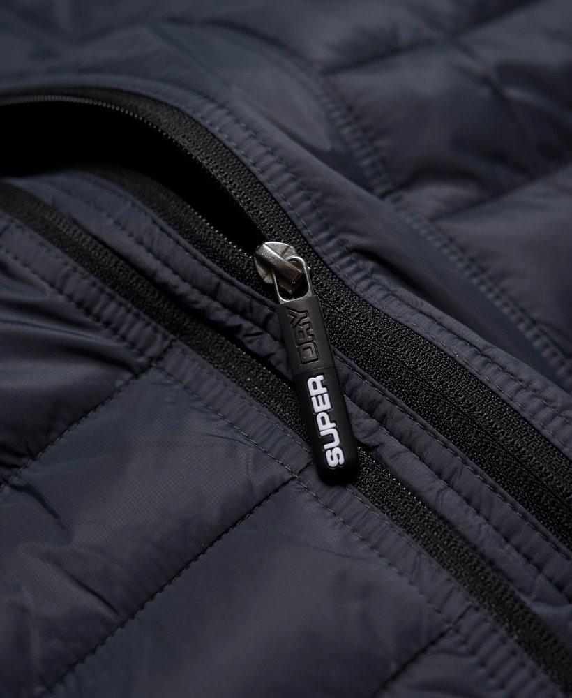 Superdry Sd-x Fuji Triple Zip Jacket in Dark Grey (Grey) for Men