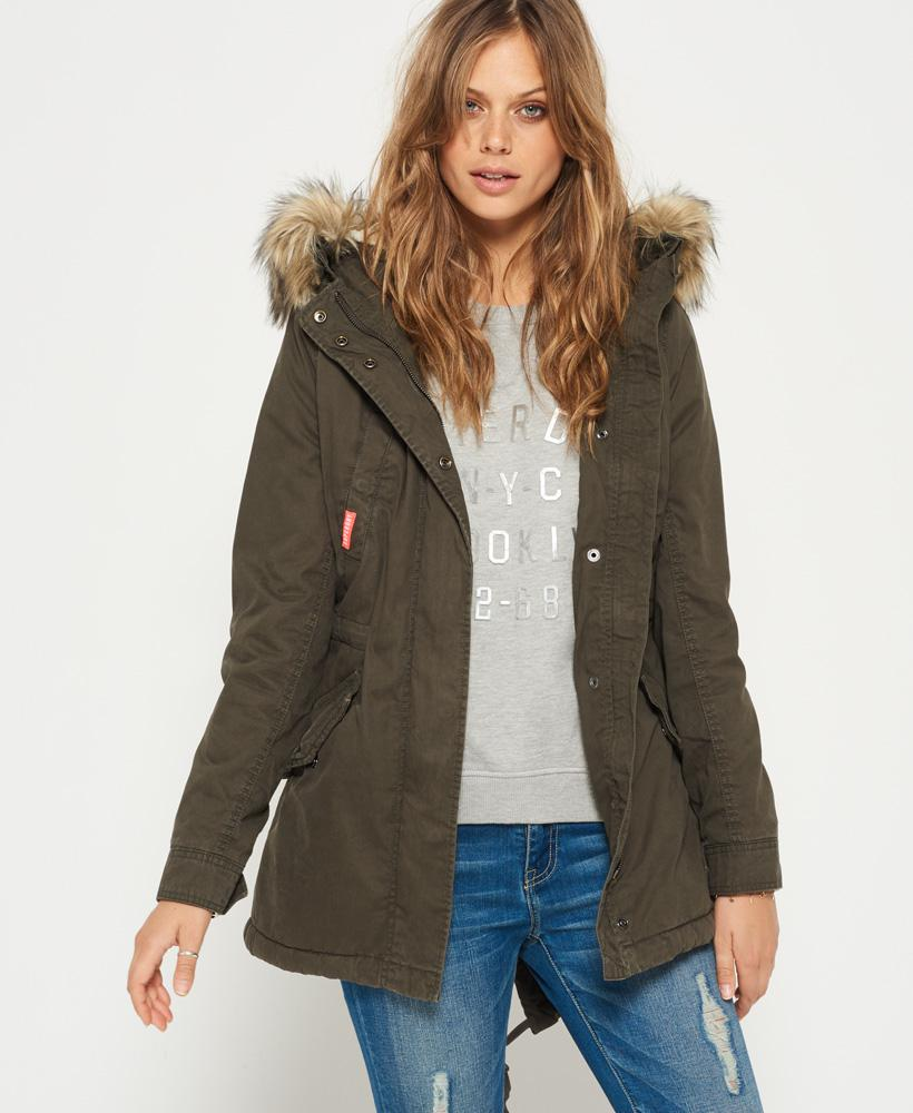 Superdry Heavy Weather Rookie Fishtail Parka Coat Lyst