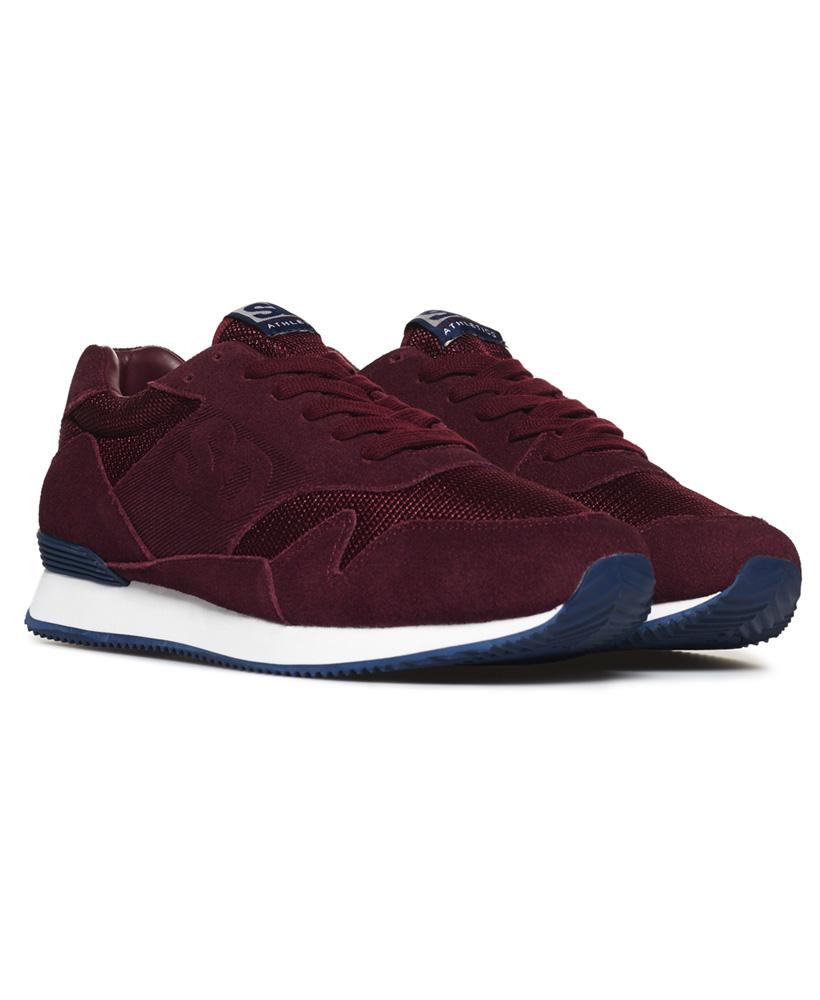 Superdry Suede Athletics Runner Trainers for Men