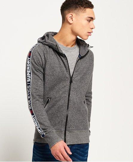 Superdry Stadium Zip Hoodie in Grey (Grey) for Men