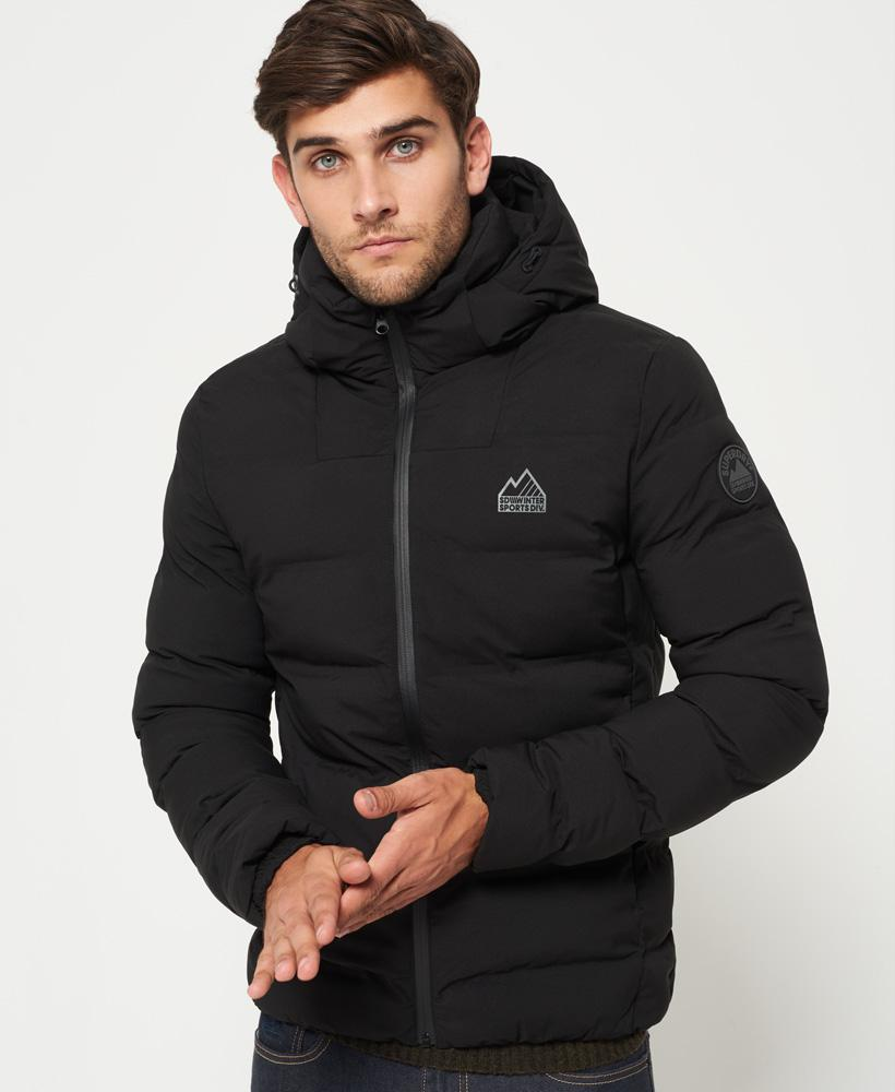 Lyst Superdry Echo Quilt Puffer Jacket In Black For Men