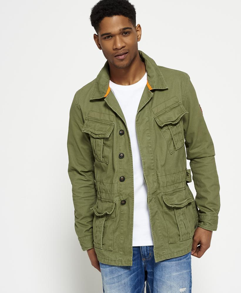Lyst Superdry Field Jacket In Green For Men