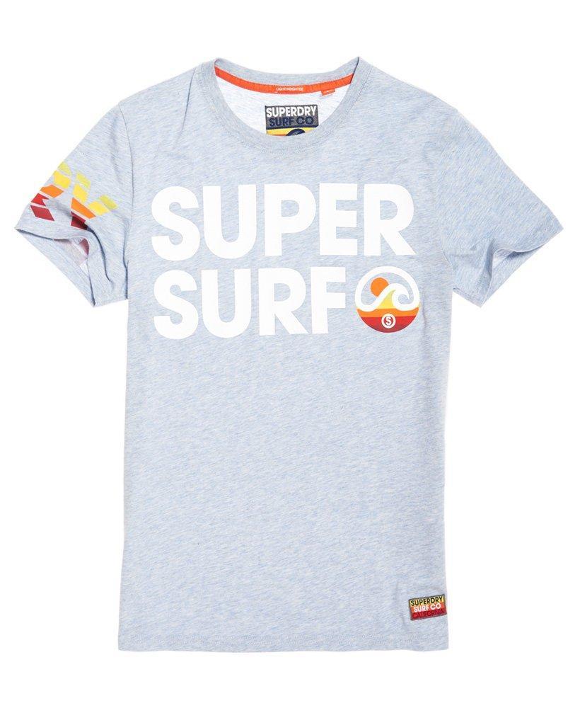 809a06043 Superdry Super Surf Lite T-shirt in Blue for Men - Lyst