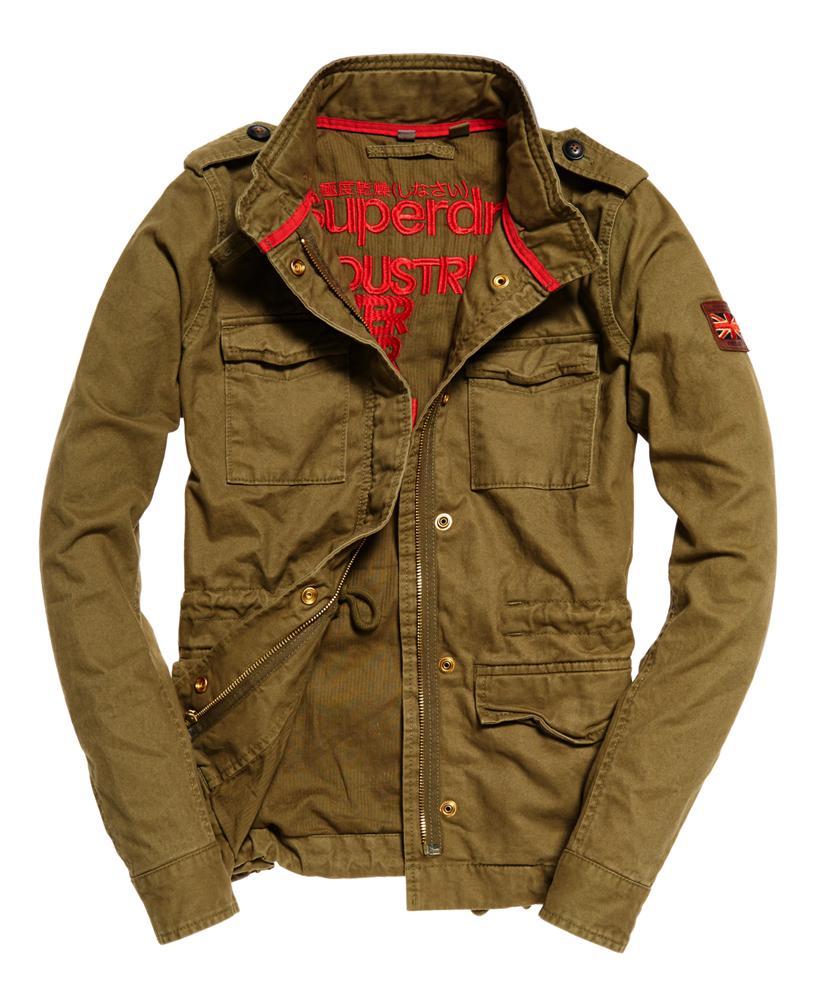 Superdry Rookie Field Jacket In Green