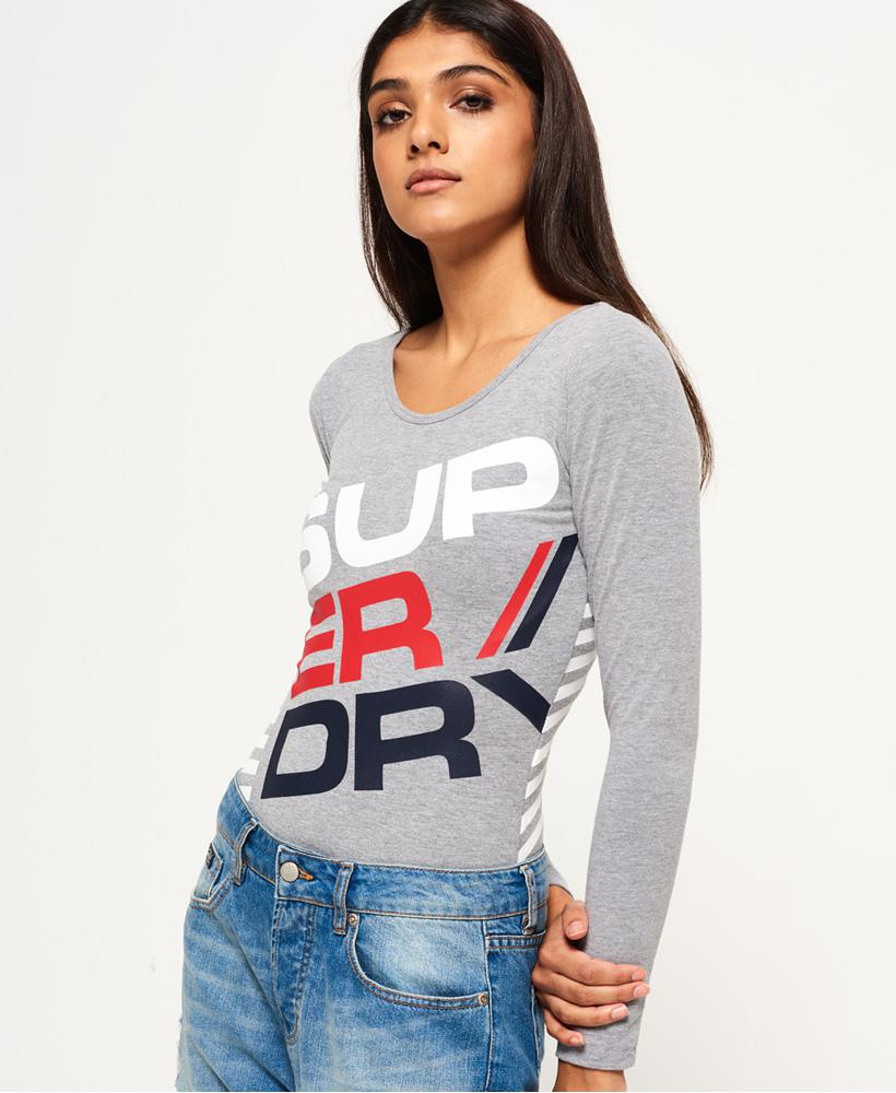 Diagonal Sportswear Bodysuit Superdry Outlet Discount Authentic Free Shipping Finishline Cheap Low Price For Nice Cheap Online Outlet Store Online ZmYV0