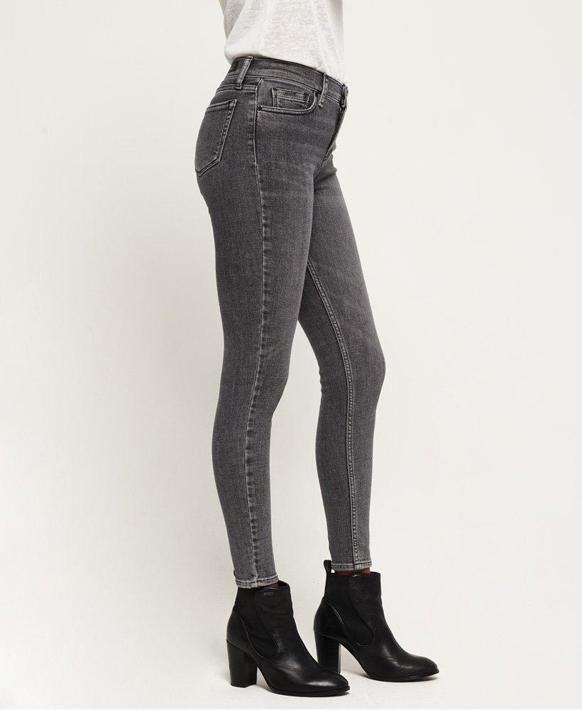 Superdry Denim Super Crafted Skinny Jeans in Grey (Grey)