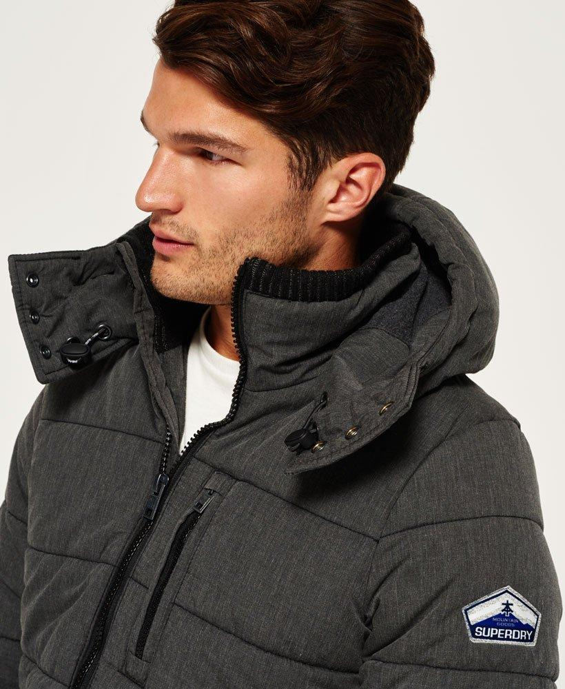 Superdry Fleece Bluestone Jacket in Black for Men