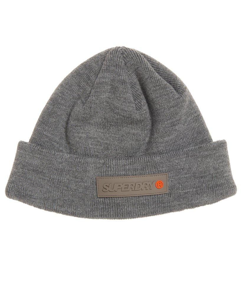 Superdry Skate Lux Beanie in Gray for Men - Lyst 2cba0ea12b11