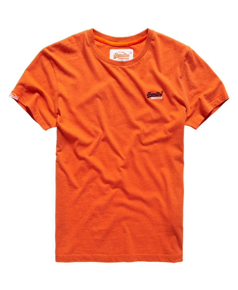 Lyst superdry orange label vintage embroidery t shirt in