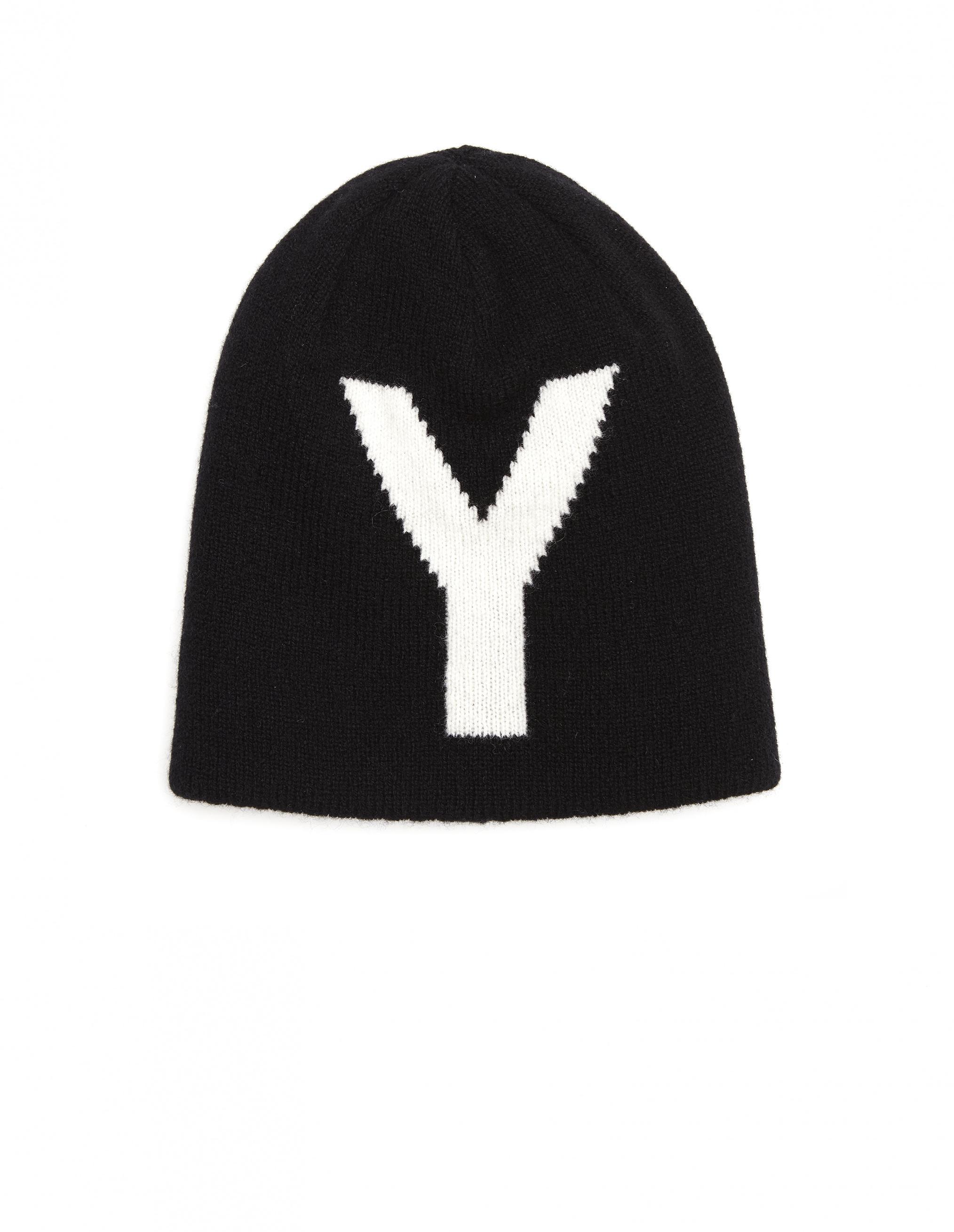 c3151a791e4 Lyst - Y s Yohji Yamamoto Reversible Wool Knit Hat in Black