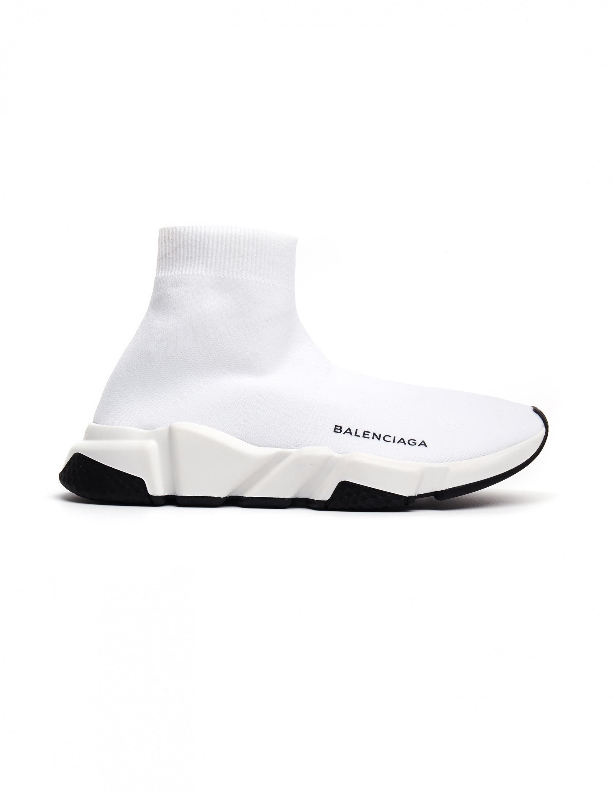 eb33d5ea6ba0 Lyst - Balenciaga Speed Trainers in White - Save 12%