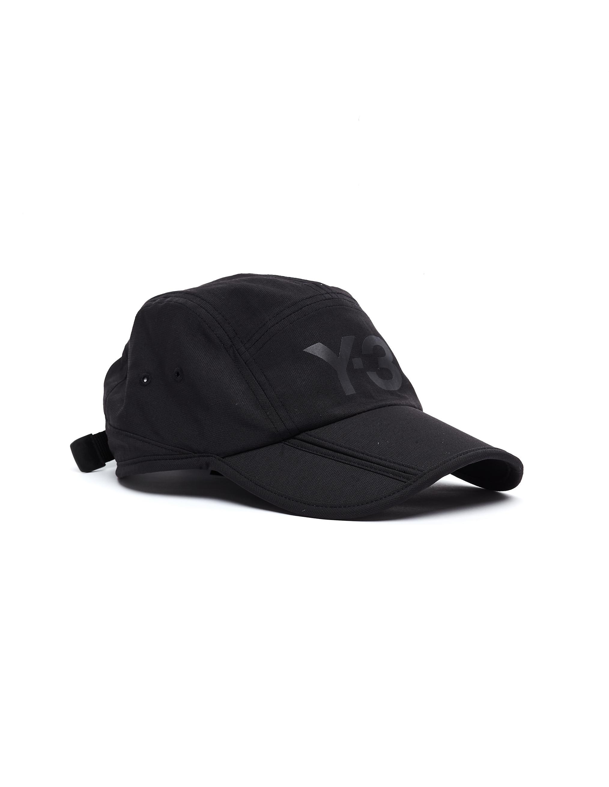899bda023 Y-3 Black Foldable Cap in Black for Men - Lyst