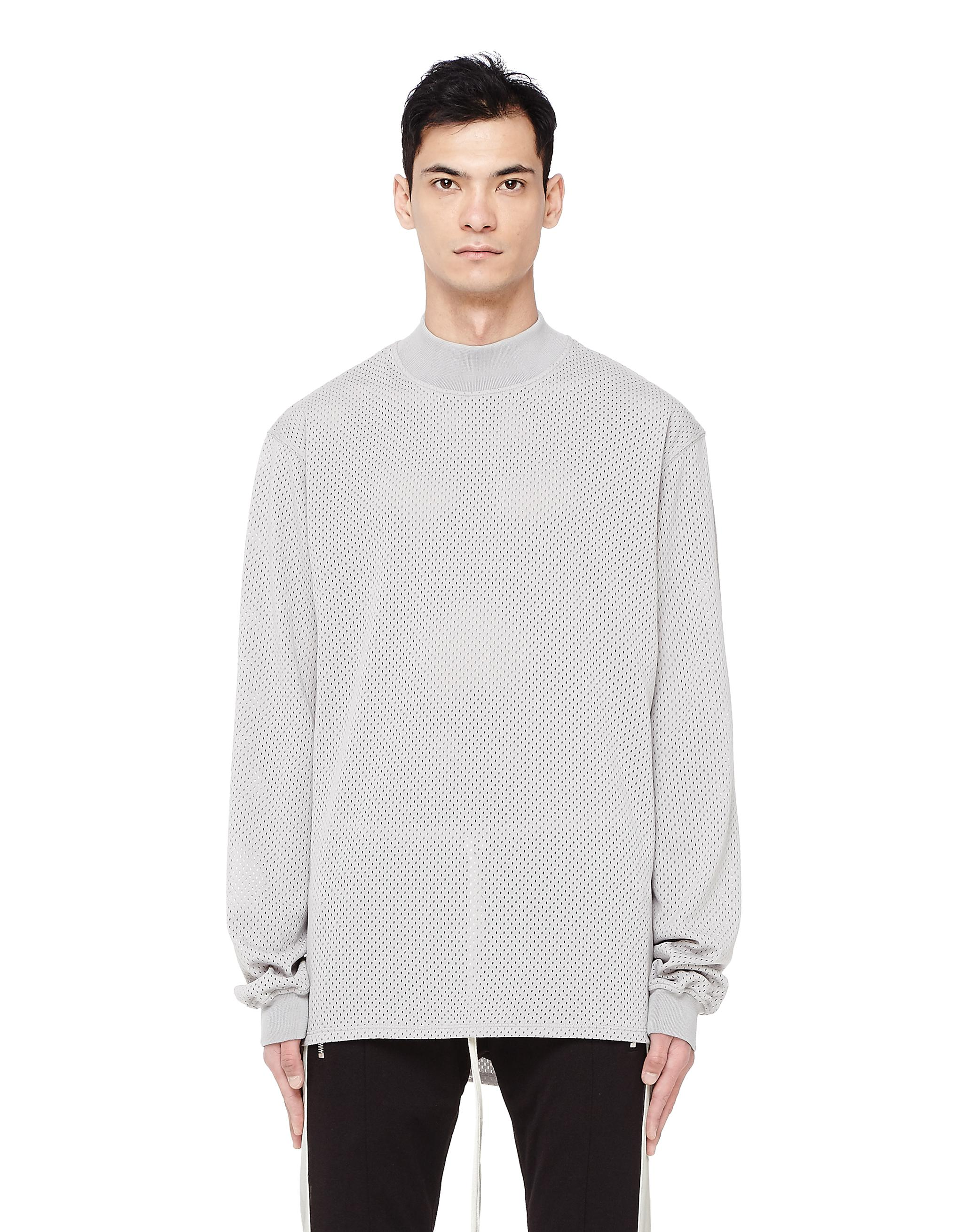 3b86284f5a Lyst - Fear Of God Long Sleeve Mesh T-shirt in Gray for Men