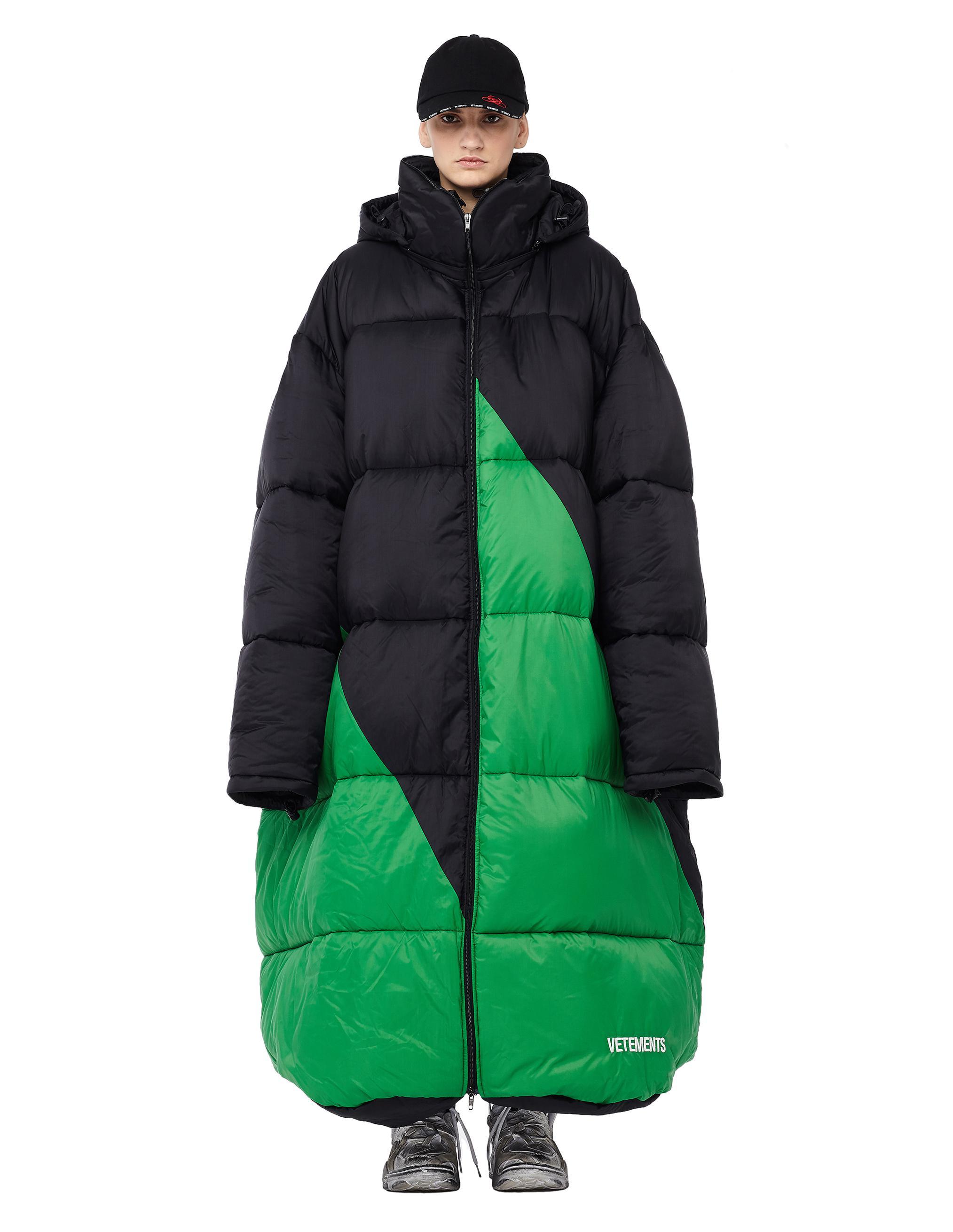 Kozzen's Gear Vetements-Black-Vagabond-Sleeping-Bag-Oversized-Puffer-Jacket