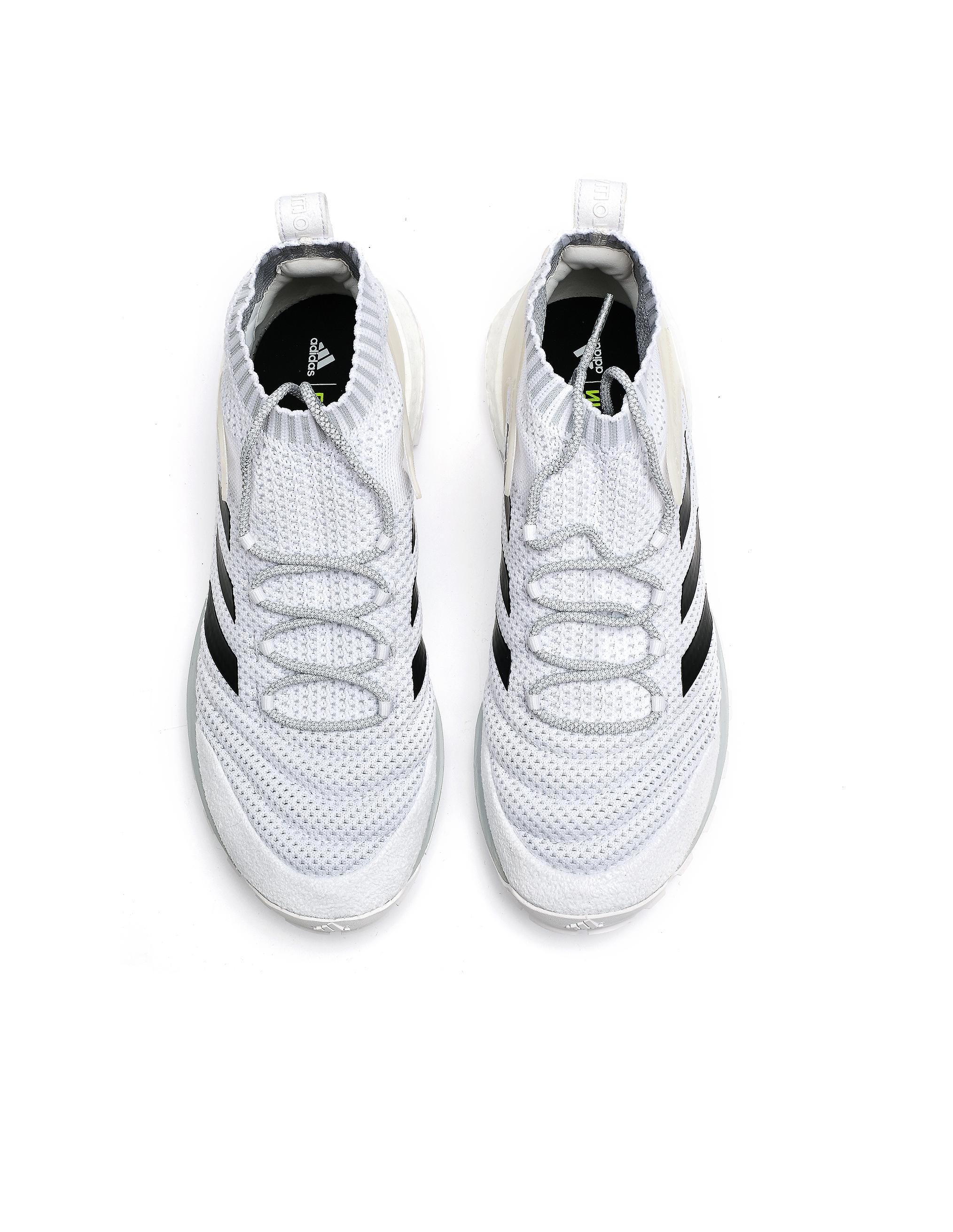 meet 370cd 636fd Lyst - Gosha Rubchinskiy White Copa Mid Sneakers in White fo
