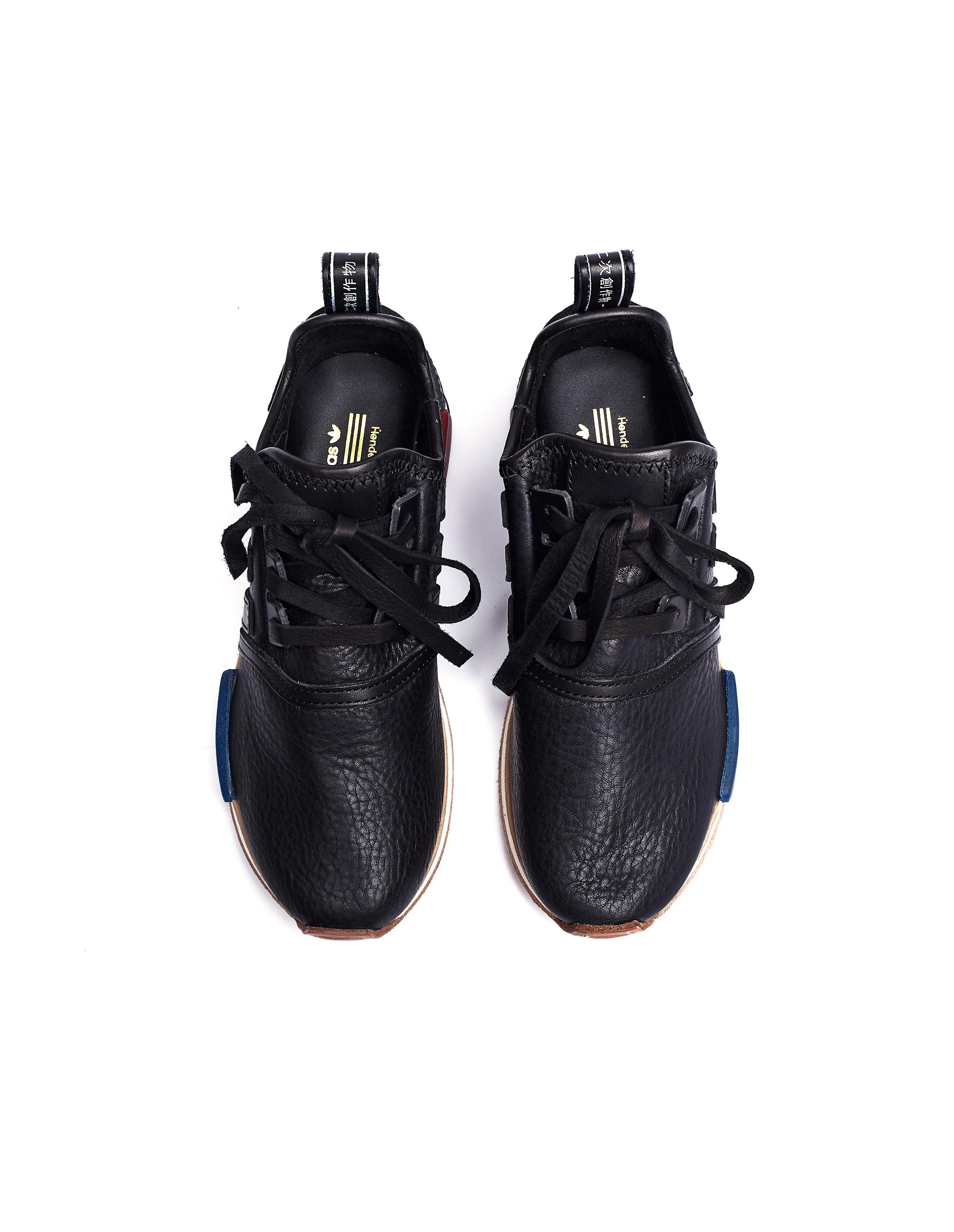 Adidas Nmd R1 Black Leather Sneakers