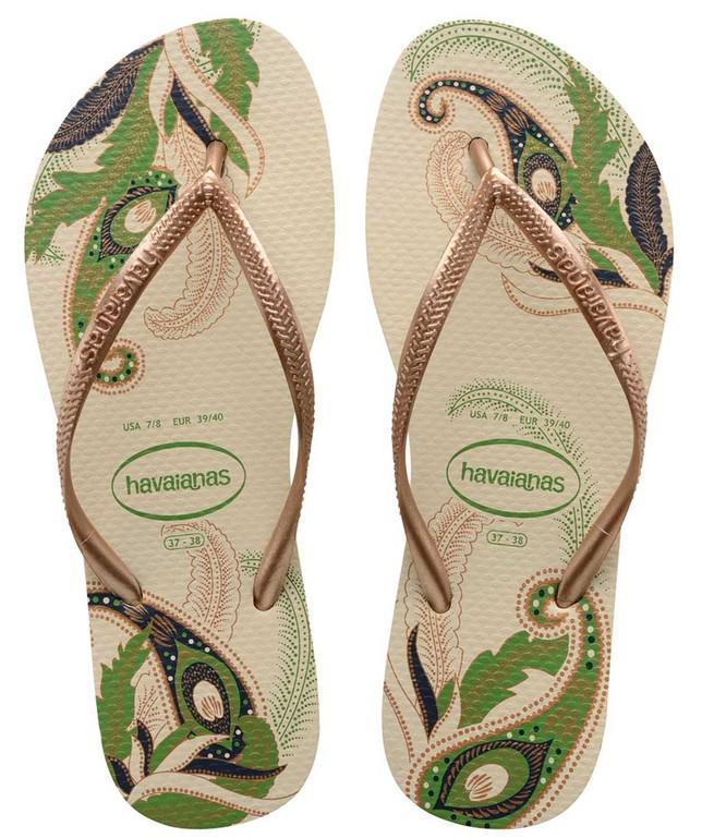 9a7492c54 Havaianas - Natural Slim Organic Sandal - Lyst. View fullscreen