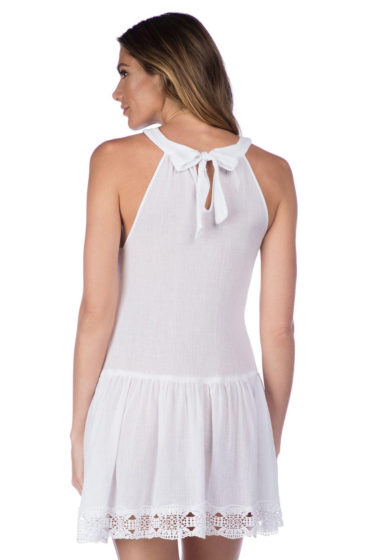 02955062cf La Blanca - White Island Fare High Neck Short Dress Swim Cover Up - Lyst.  View fullscreen