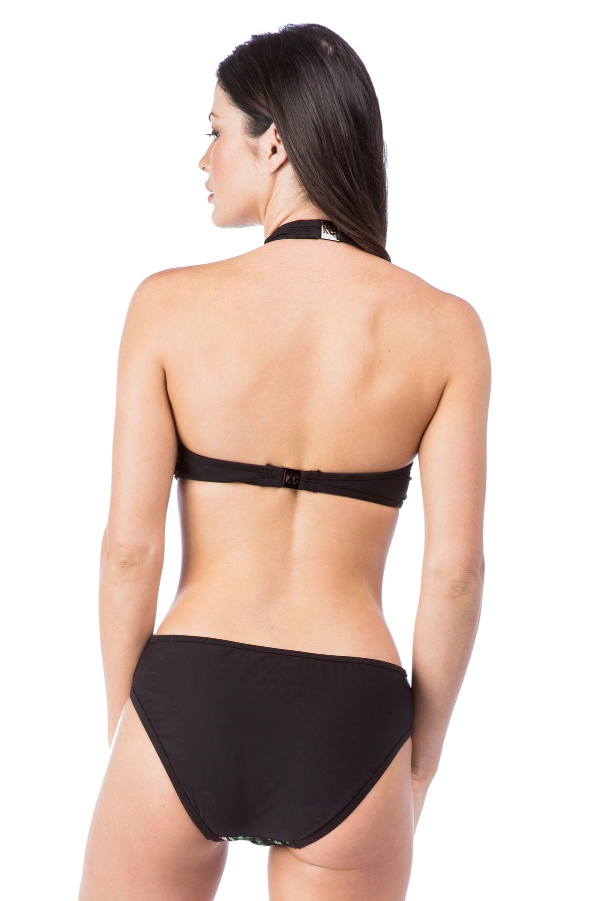 5ac6802c4f Kenneth Cole - Black After The Sun Sets High Neck Monokini One Piece  Swimsuit - Lyst. View fullscreen