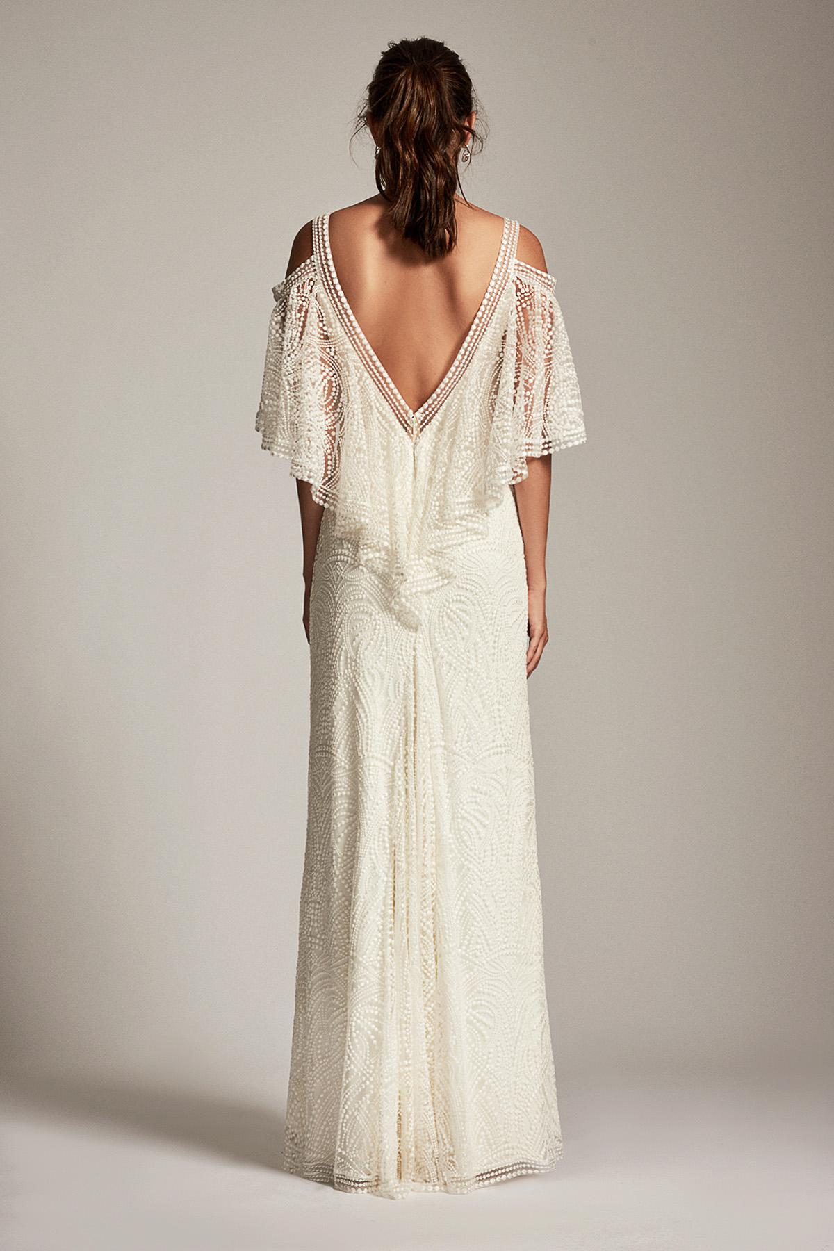 Lyst - Tadashi Shoji Adreanna Gown in White