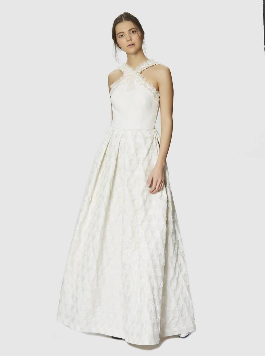 Lyst - Roman Embellished Gown in White