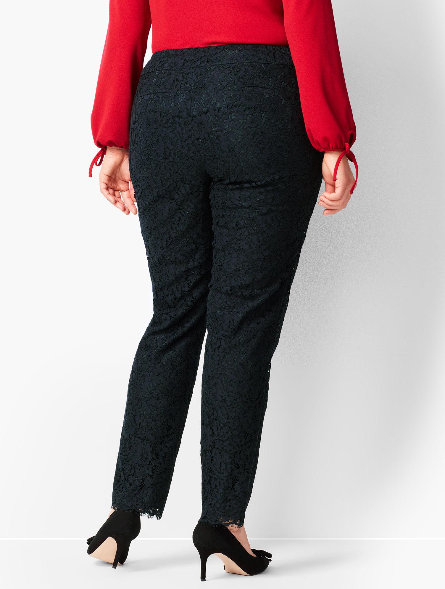 5d1571e09a Talbots - Black Plus Size Hampshire Ankle Pants - Lyst. View fullscreen