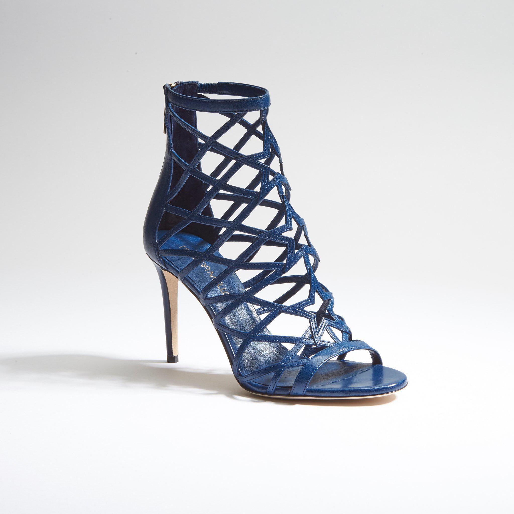 59a54786d61e2f Lyst - Tamara Mellon Starlight 90 - Capretto in Blue