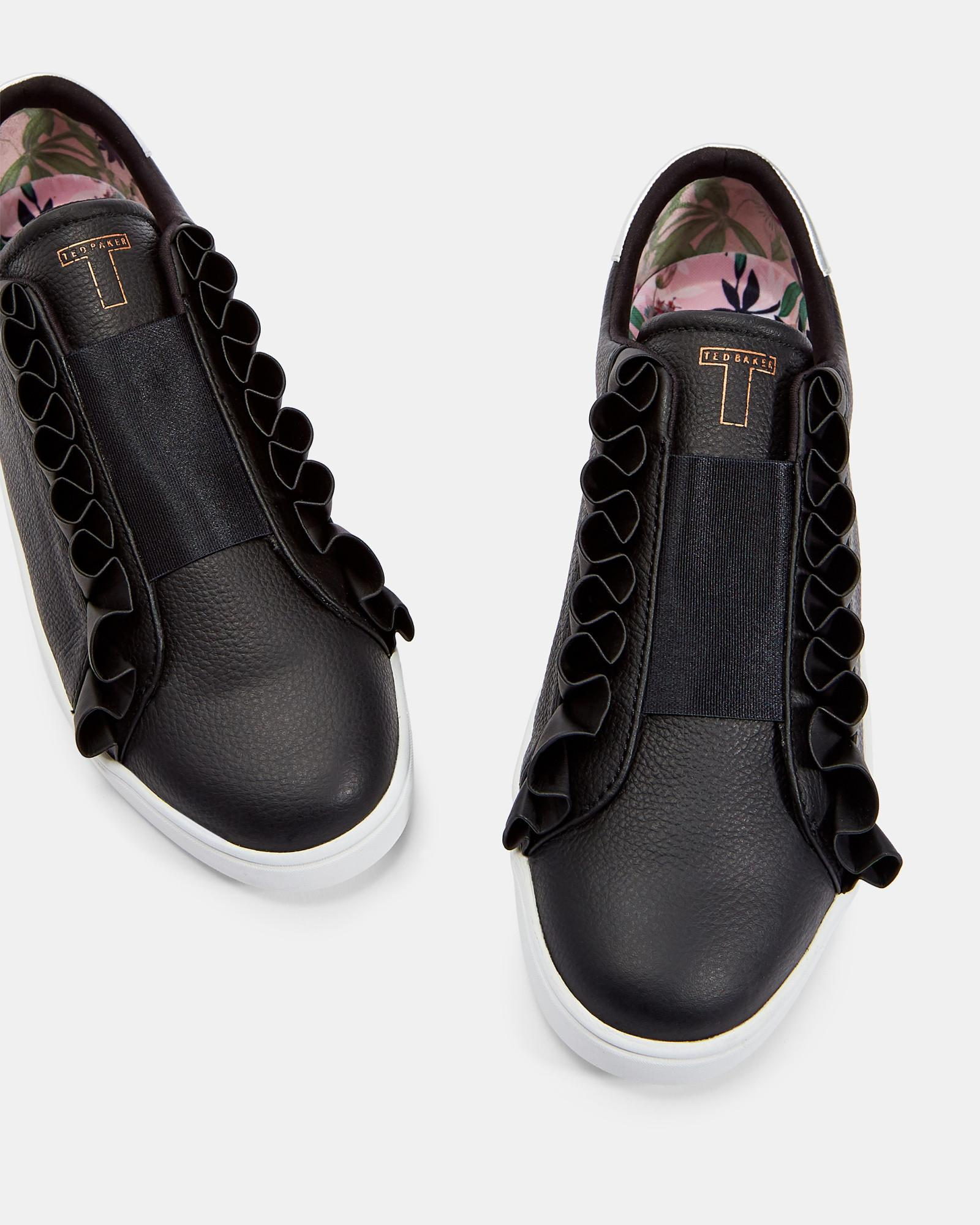 ted baker ruffle sneakers