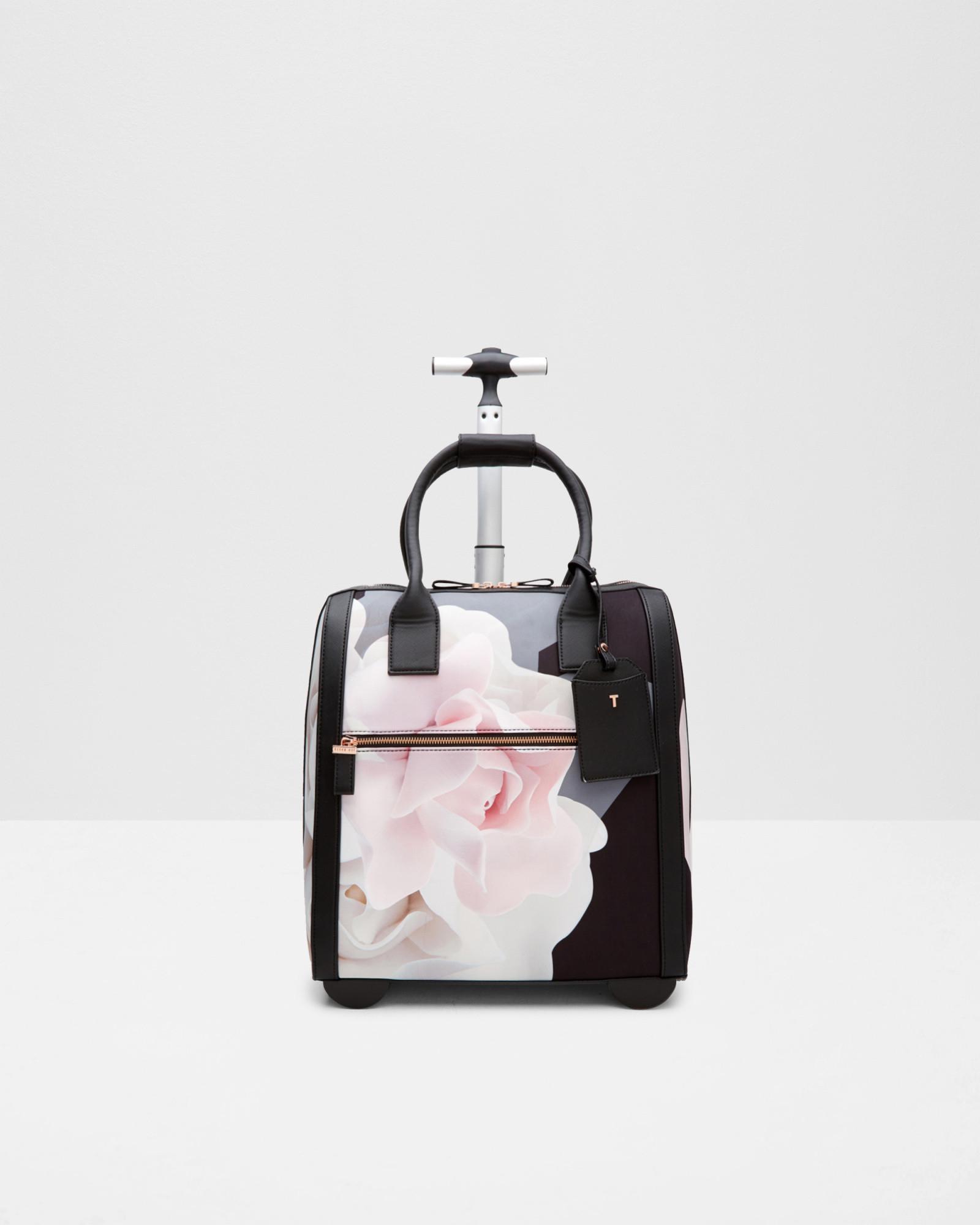 79fb75d92 Ted Baker Porcelain Rose Travel Bag in Black - Lyst