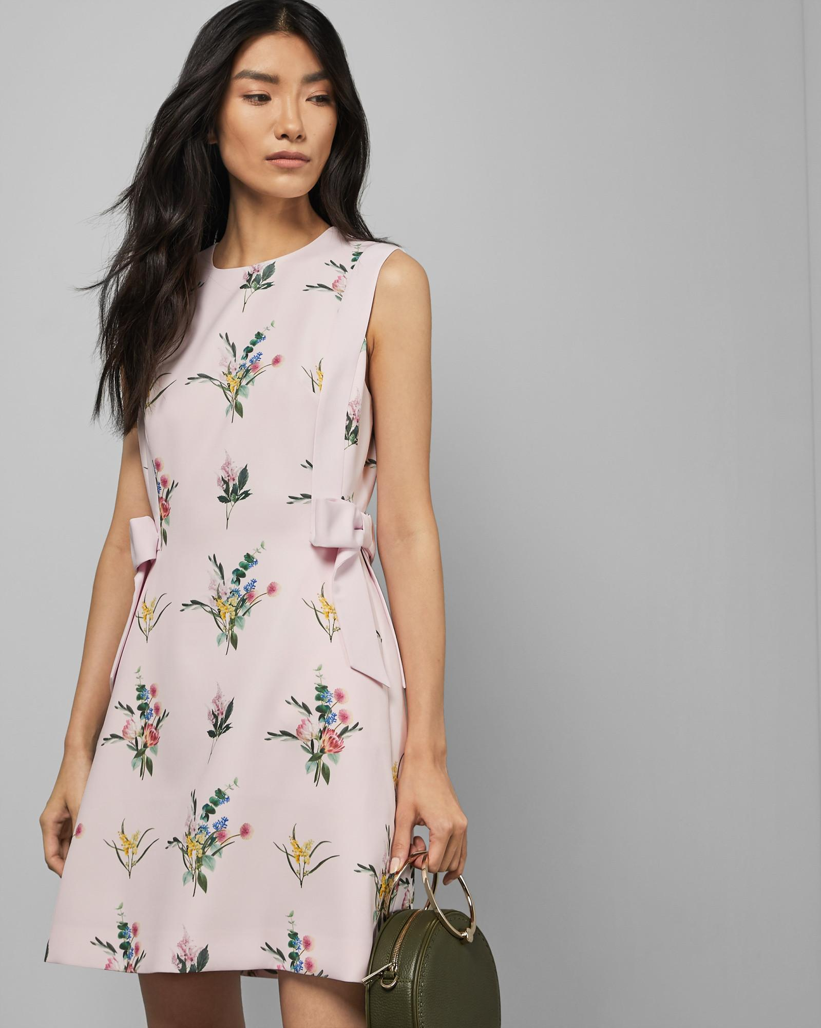 9fc2267c170a1 Lyst - Ted Baker Flourish A-line Dress in Pink