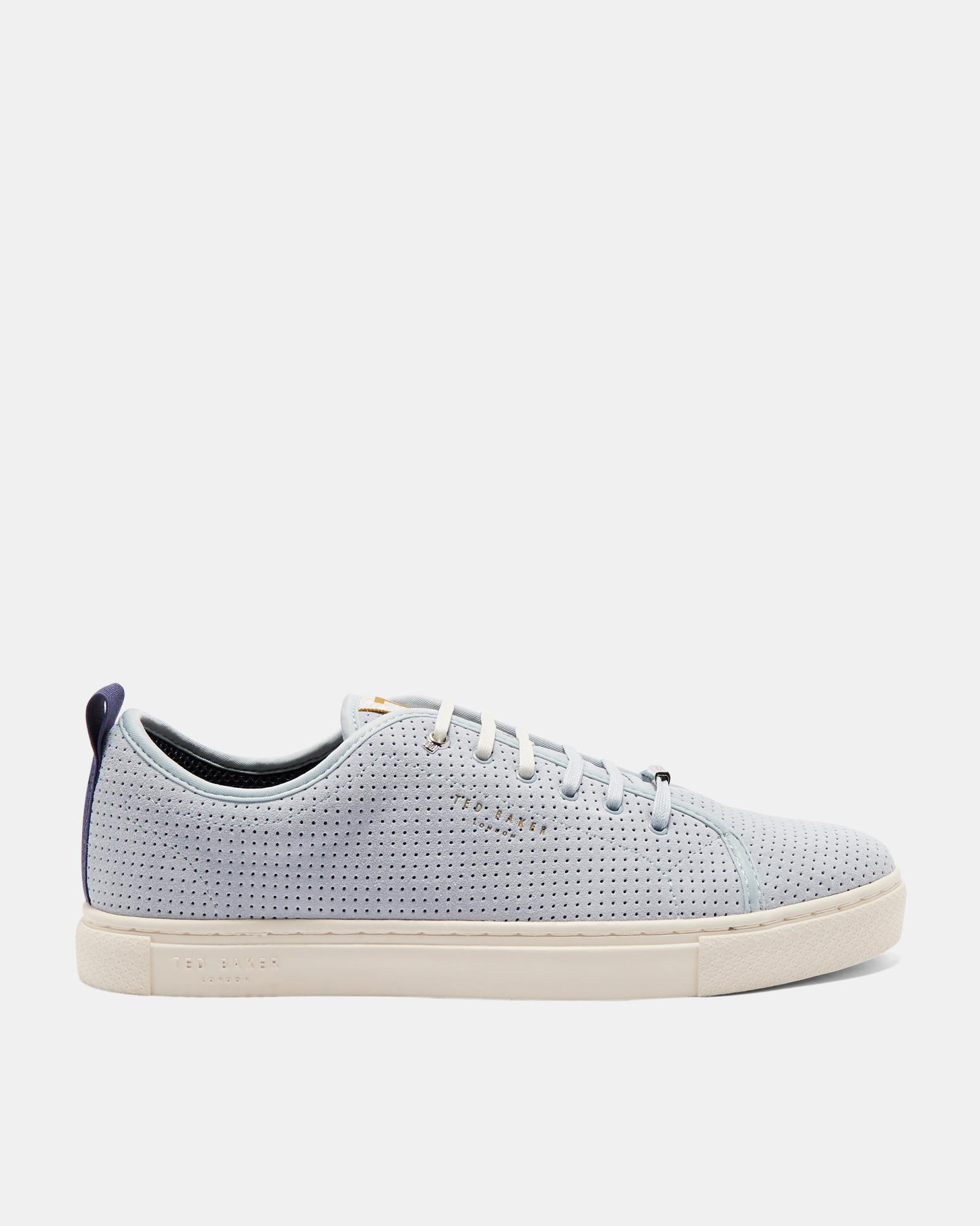 Suede Plimsole Trainers Ted Baker htw4N