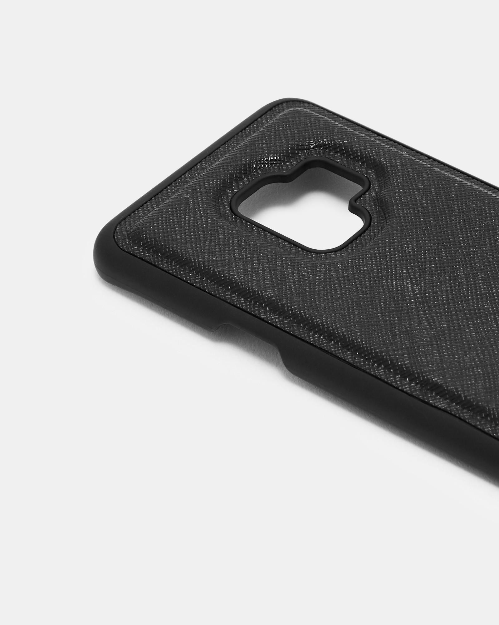 Ted Baker Carrow Samsung Galaxy S9 Clip On Case in Black for Men