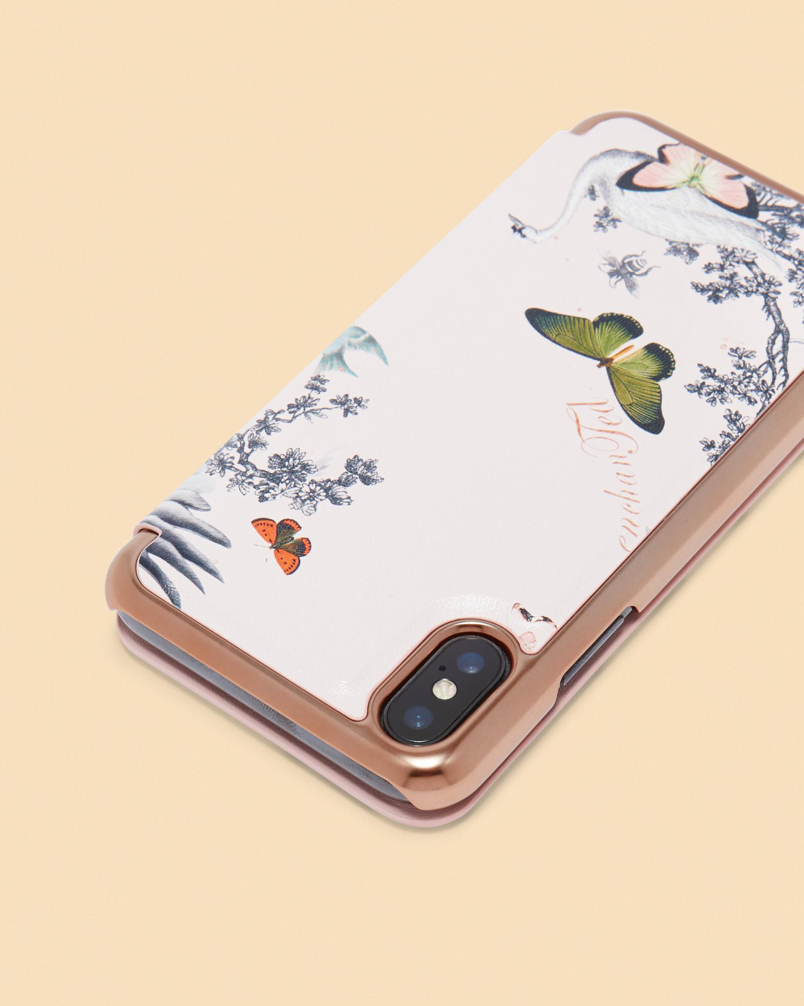 size 40 323a3 1e9c9 Ted Baker Multicolor Enchanted Dream Iphone 8 Mirror Case