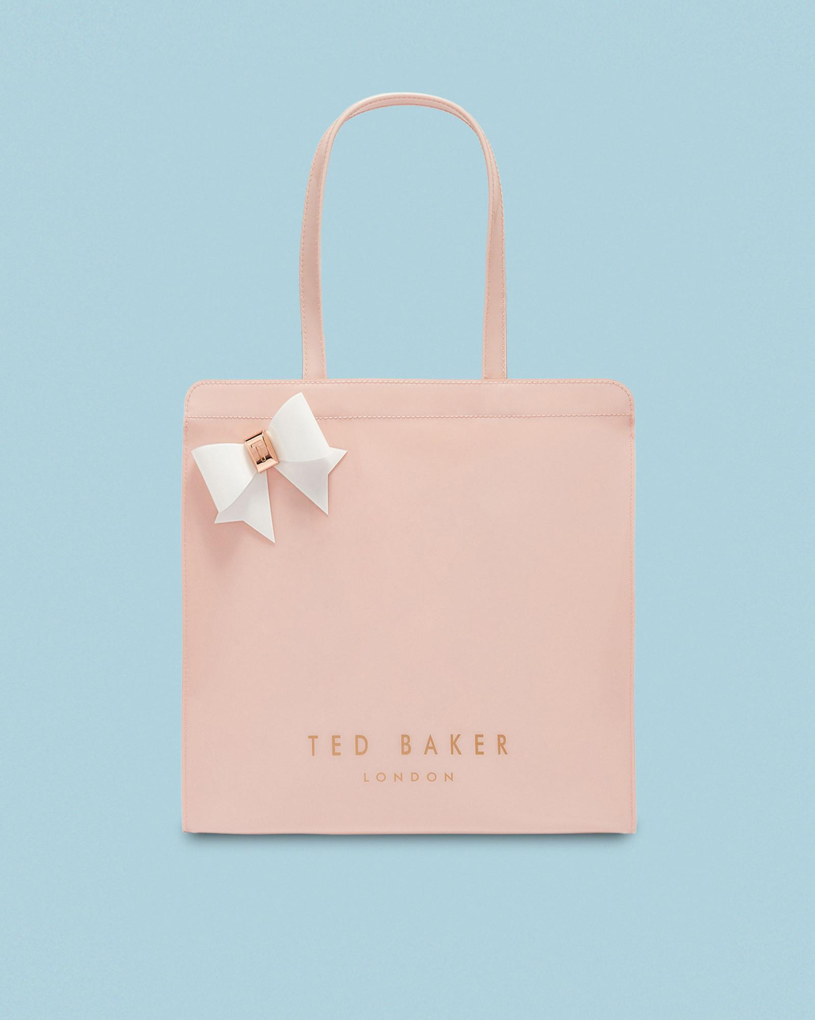 1b61b3e7b Ted Baker Large Bow Icon Bag in Pink - Lyst