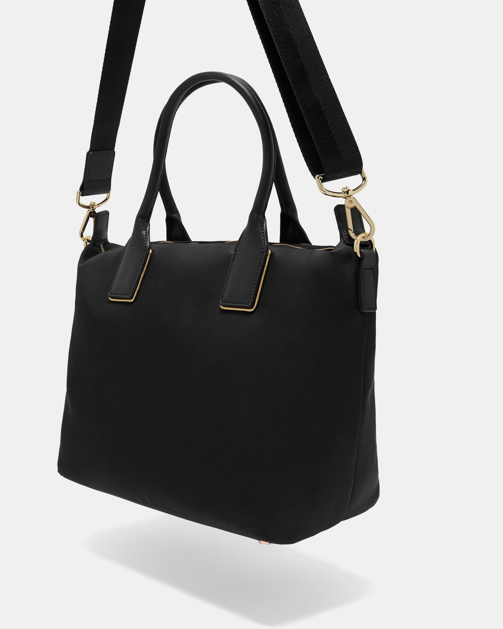 0d2e65536ab6fc Ted Baker Small Tote Bag in Black - Save 10% - Lyst