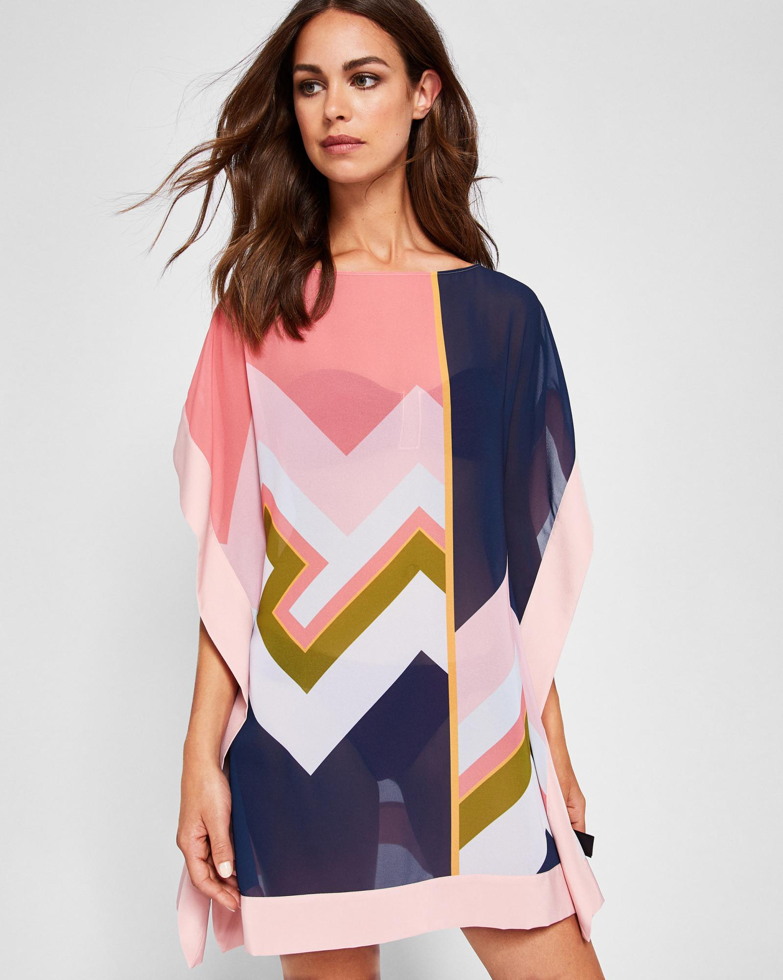 a951fc33f219 Ted Baker Mississippi Square Cover Up in Blue - Lyst