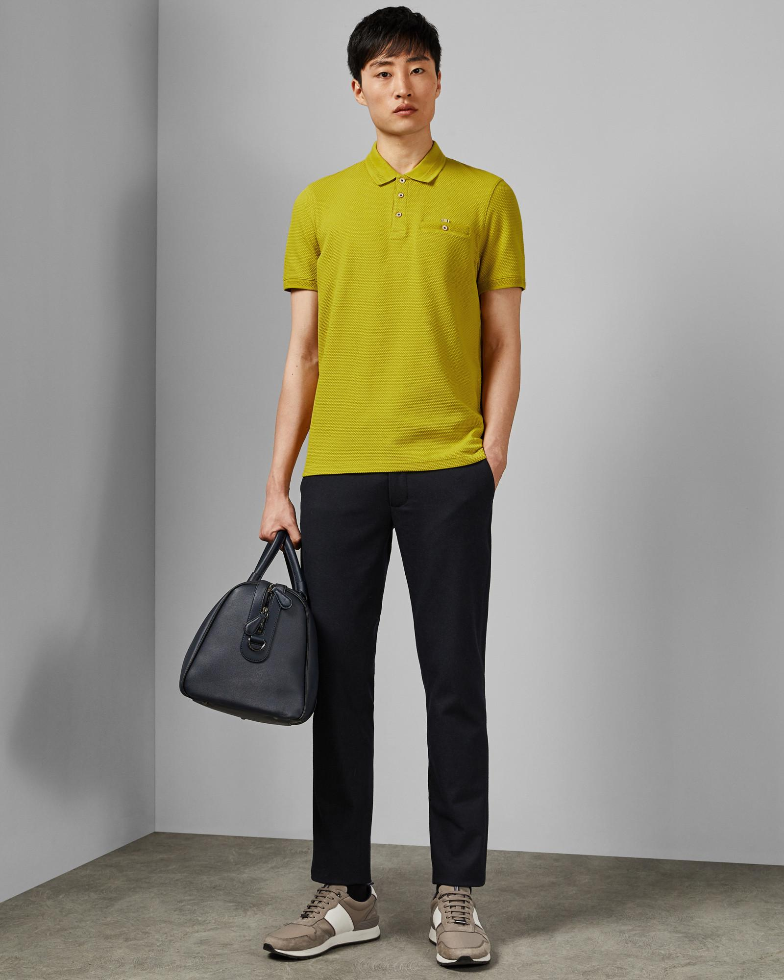 c83b245f9 Lyst - Ted Baker Cotton Blend Polo Shirt for Men