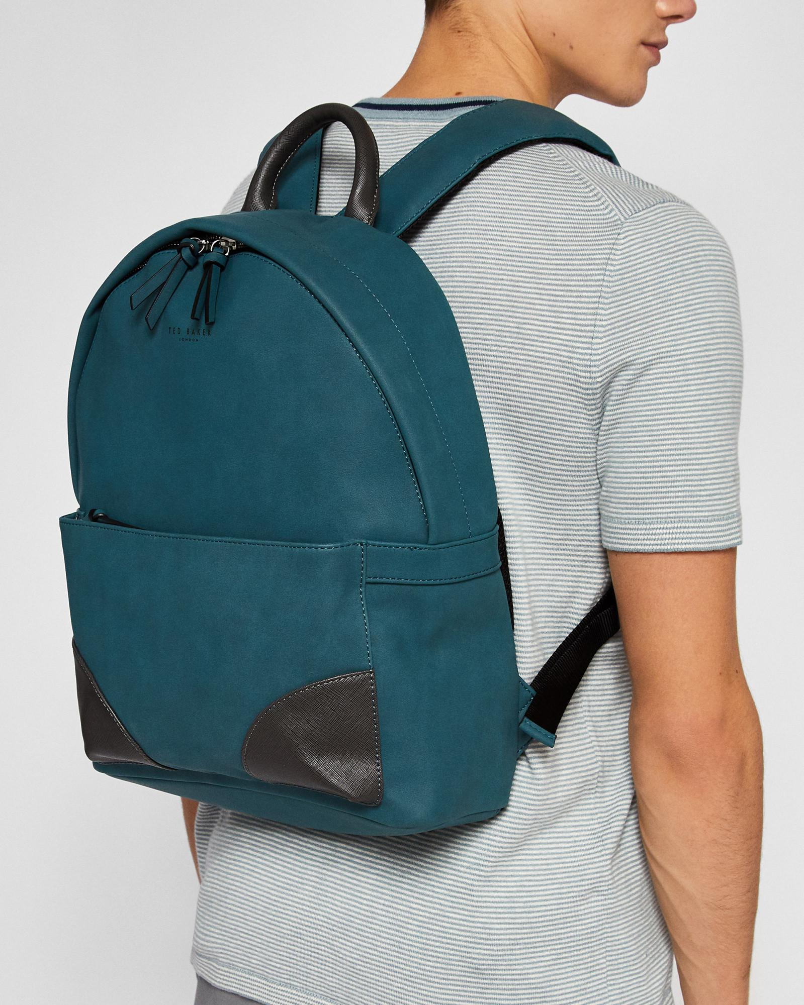 95b7b5914f64 Ted Baker - Multicolor Faux Nubuck Backpack for Men - Lyst. View fullscreen