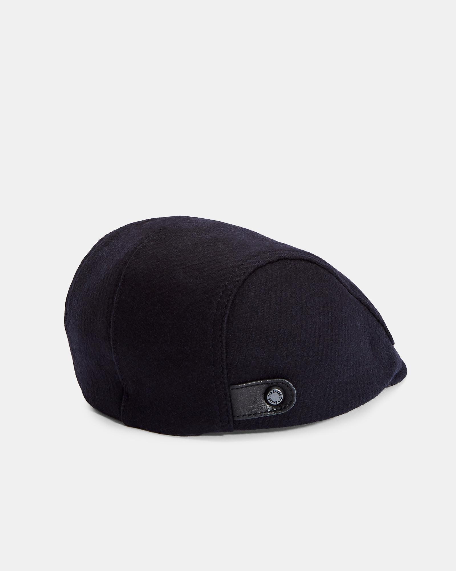 Ted Baker Wool Flat Cap in Blue for Men - Lyst 9b57b2dc63c6