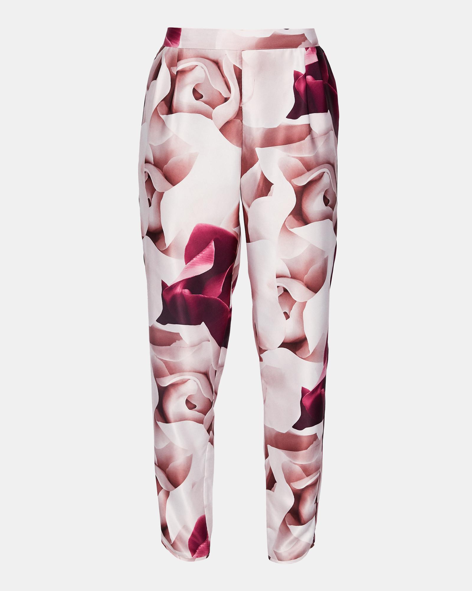 0a7cd4cab486 Ted Baker Porcelain Rose Pyjama Bottoms in Pink - Lyst