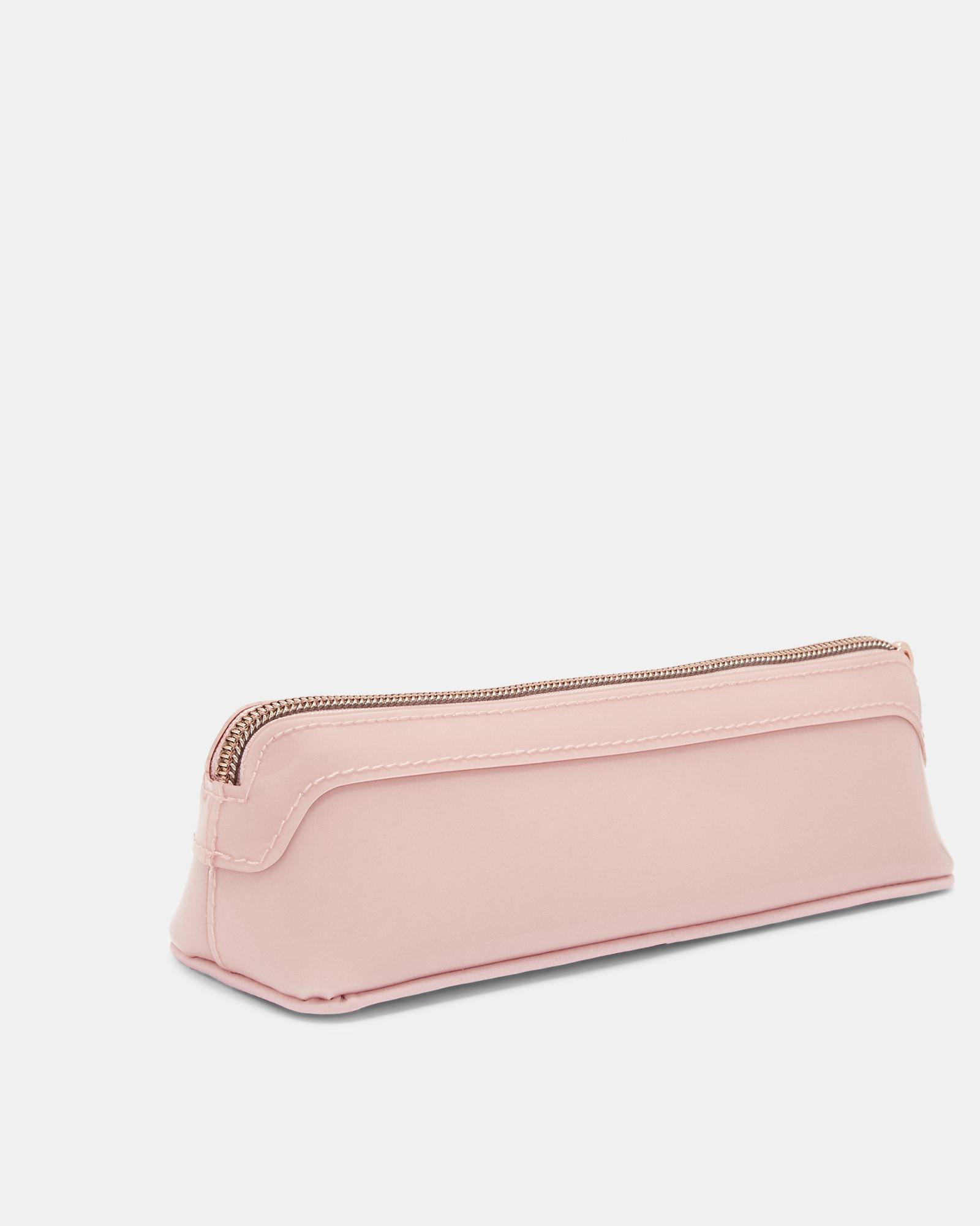 new style 45d62 61b80 Ted Baker Bow Detail Pencil Case in Pink - Lyst